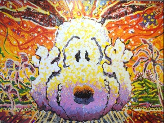 Tom Everhart - NOBODY BARKS IN L.A. - Limited Edition print