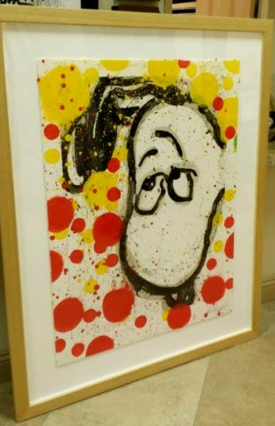 Tom Everhart - I Can't Believe My Ears... Darling - Original Painting