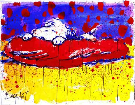 Tom Everhart - Pig Out - Limited Edition print