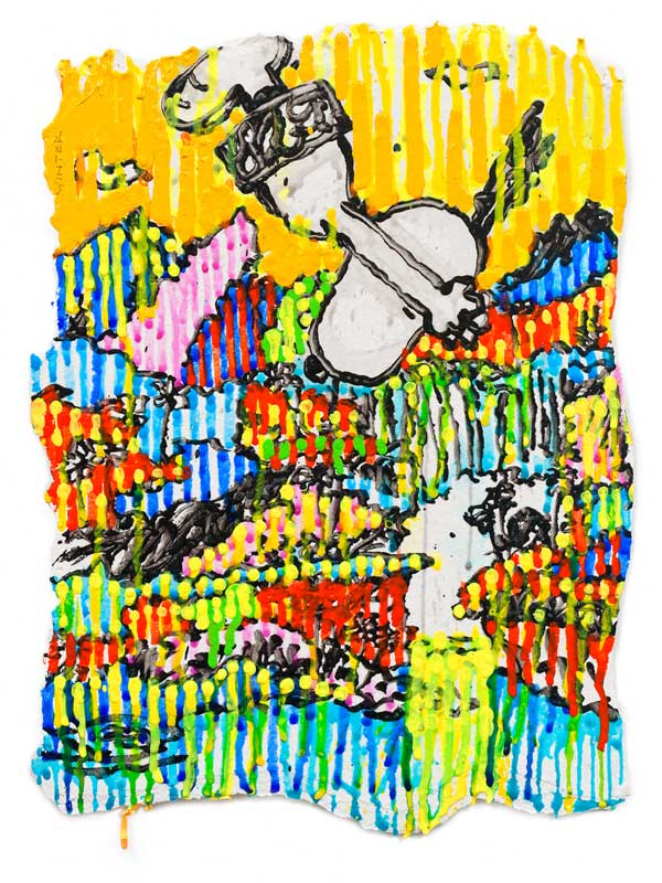 Tom Everhart - Winter - Superfly Suite - Limited Edition print