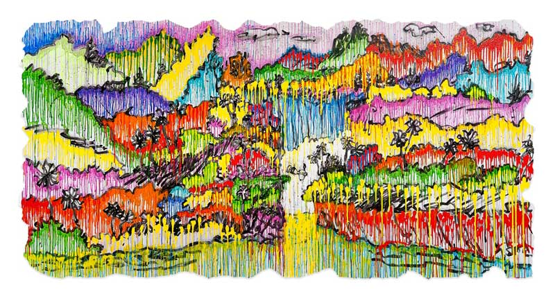 Tom Everhart - SUPERFLY - Superfly Suite - Limited Edition print