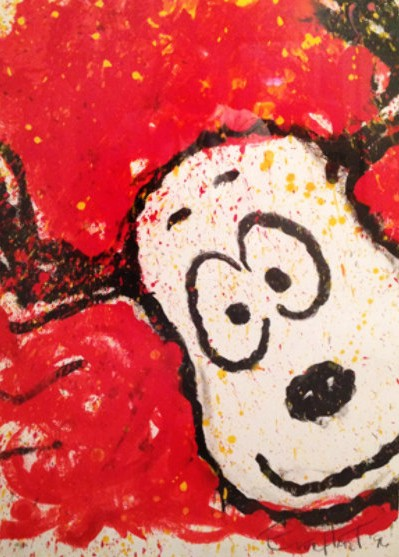 Tom Everhart - To Every Dog There Is a Season - Spring - Limited Edition print
