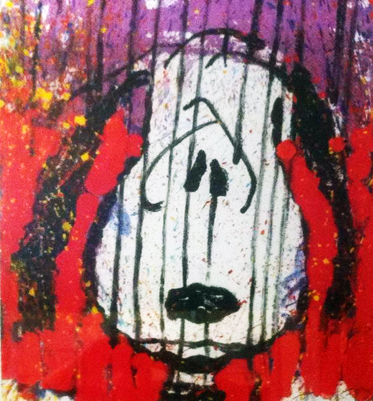 Tom Everhart - To Every Dog There Is a Season - Winter - Limited Edition print