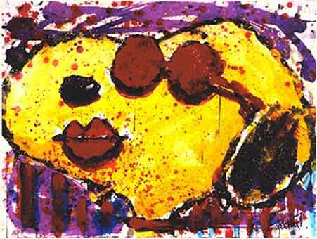 Tom Everhart - Very Cool Lips in Brentwood - Limited Edition print