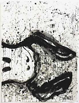 Tom Everhart - Watch Dog 9 O'Clock - Limited Edition print