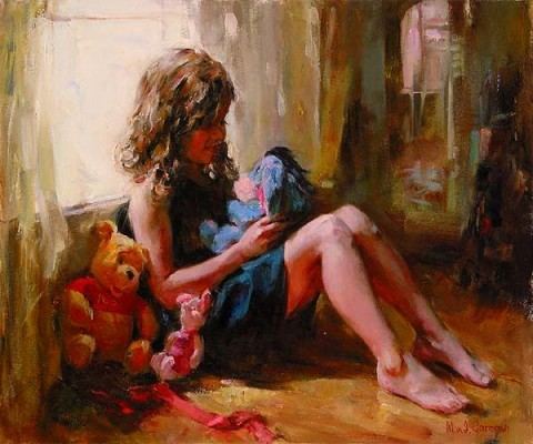 AMONG FRIENDS  Giclee 20 x 24 inches Edition Size: 195 by Michael and Inessa Garmash