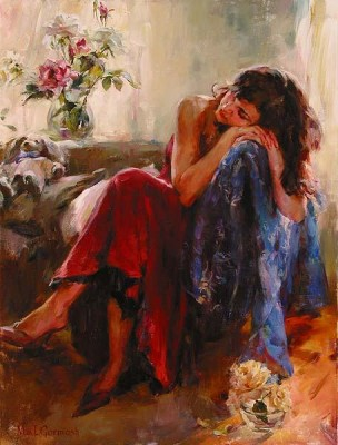 DREAMING OF LOVE  Giclee 40 x 30 inches Edition Size: 95 by Michael and Inessa Garmash