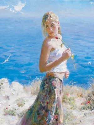 FAIR BEAUTY  Giclee 24 x 18 inches Edition Size: 50 by Michael and Inessa Garmash