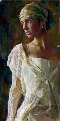 GENTLE LIGHT  Giclee 24 x 12 inches Edition Size: 30 by Michael and Inessa Garmash