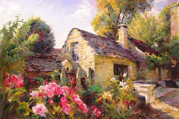 LA MAISON DE PROVENCE  Giclee 24 x 36 inches Edition Size: 195 by Michael and Inessa Garmash