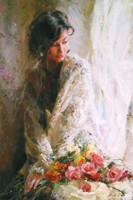 MORNING BEAUTY  Giclee 27 x 18 inches Edition Size: 295 by Michael and Inessa Garmash