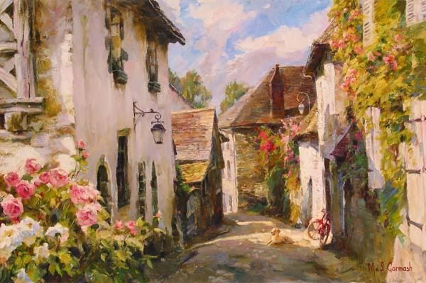 MORNING IN PROVENCE  Giclee 24 x 36 inches Edition Size: 195 by Michael and Inessa Garmash