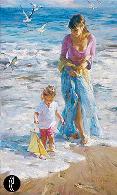 PRECIOUS MOMENTS  Giclee 40 x 24 inches Edition Size: 95 by Michael and Inessa Garmash