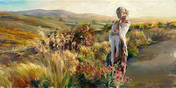 Promise  Embellished Giclee on Canvas by Michael and Inessa Garmash