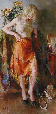 READY FOR ROMANCE  Giclee 40 x 20 inches Edition Size: 295 by Michael and Inessa Garmash