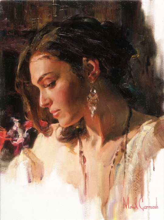 Solemn Beauty - Limited Edition print 24 x 18 inches Edition Size: 350 by Michael and Inessa Garmash