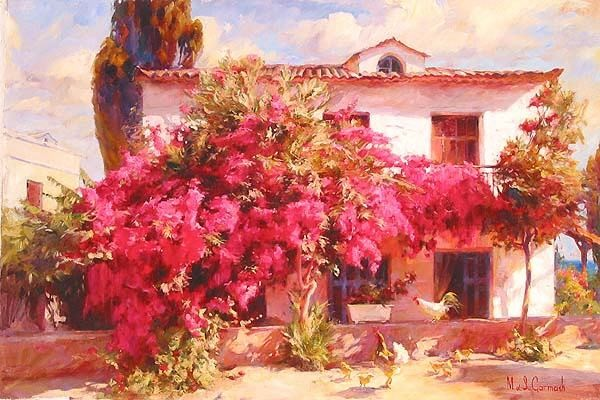 SUMMER IN THE COUNTRY  Giclee 20 x 30 inches Edition Size: 95 by Michael and Inessa Garmash