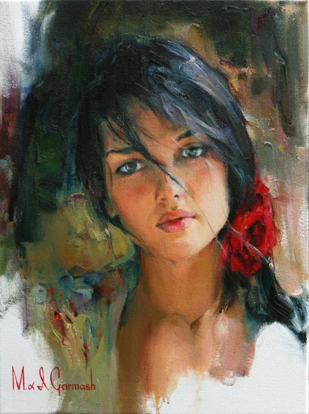 Feelings - original painting - by Michael and Inessa Garmash