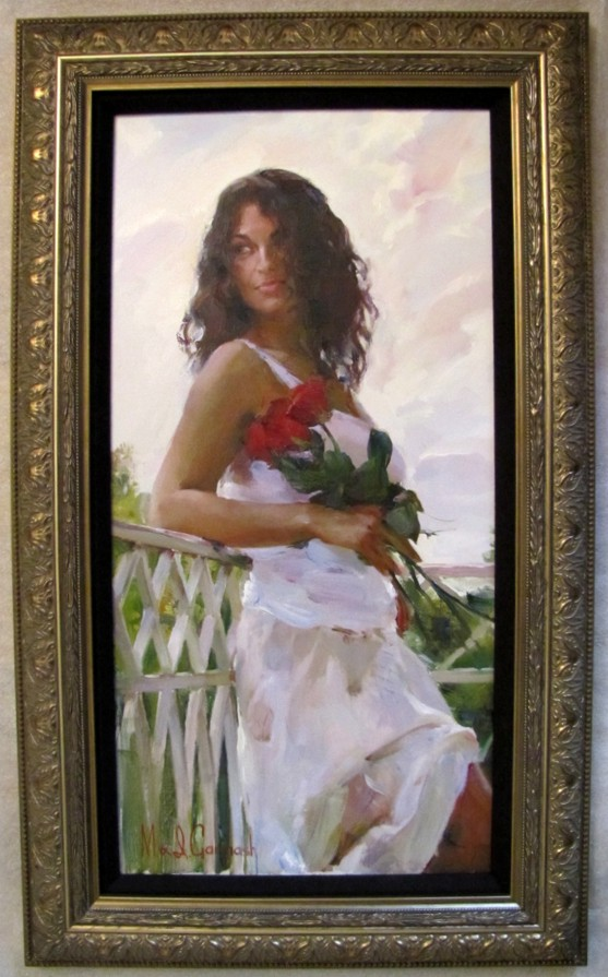 Romantic Morning - original painting - by Michael and Inessa Garmash