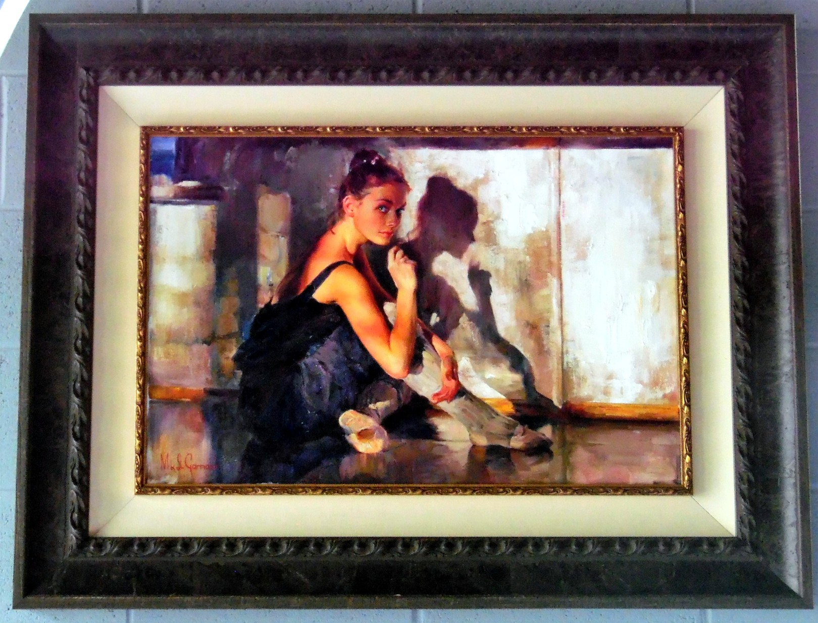 State of Grace - Fayum  Giclee 18 x 18 inches Edition Size: 50 by Michael and Inessa Garmash