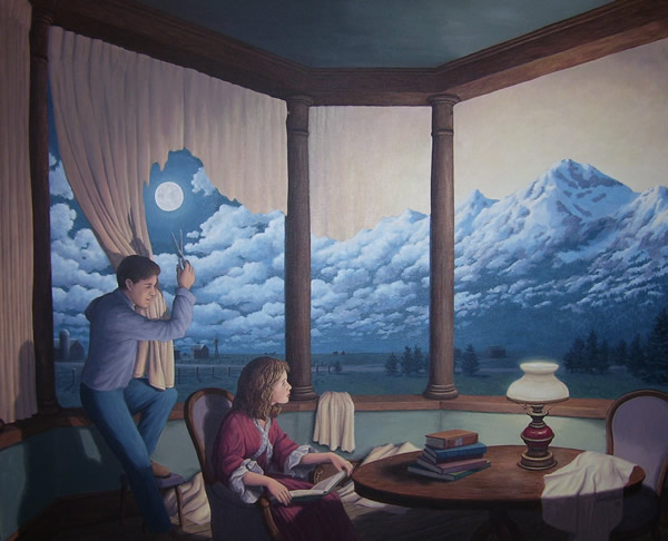 Rob Gonsalves - Change of Scenery 2 - Making Mountains