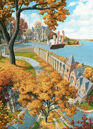 Rob Gonsalves - On the Upswing