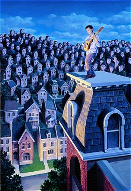 Rob Gonsalves - The Performer and His Public