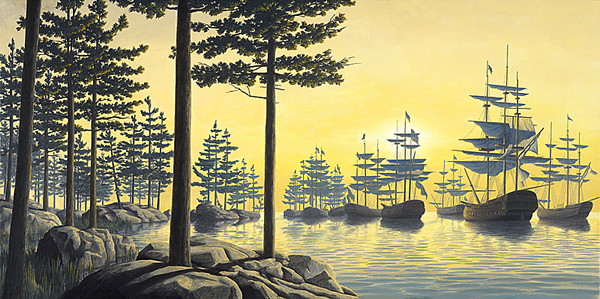 Rob Gonsalves - Sailing Island