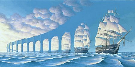 Rob Gonsalves - Sun Sets Sail