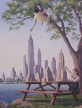 Rob Gonsalves - Table Top Towers