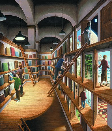 Rob Gonsalves - Written Worlds