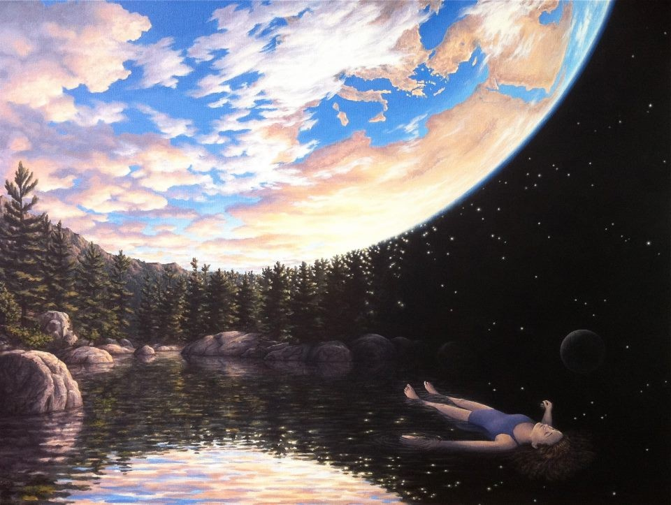 Rob Gonsalves - The Phenomenon of Floating