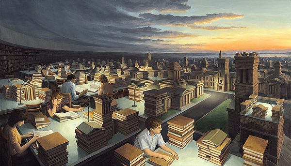 Rob Gonsalves - Towers of Knowledge