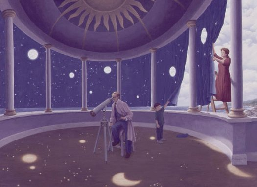 Rob Gonsalves - Astral Projections