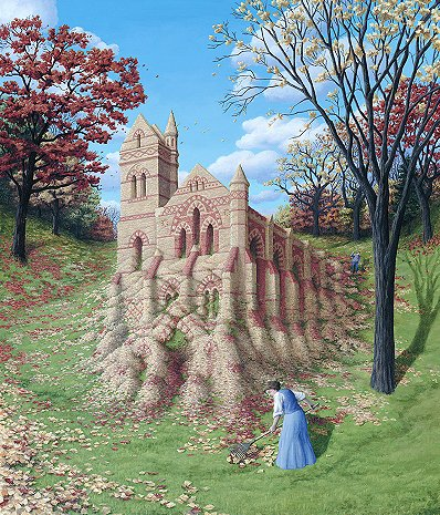 Rob Gonsalves - Autumn Arcitecture