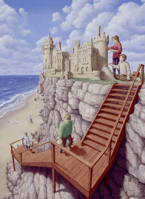 Rob Gonsalves - Castle on the Cliff