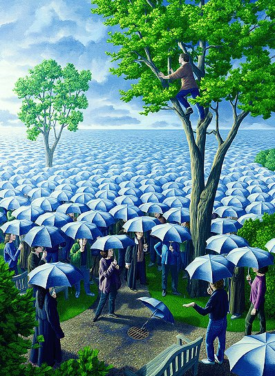 Rob Gonsalves - Deluged