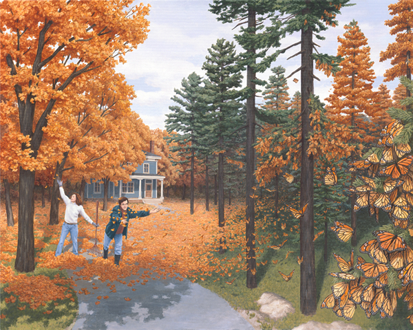 Rob Gonsalves - Fall Colour Flies