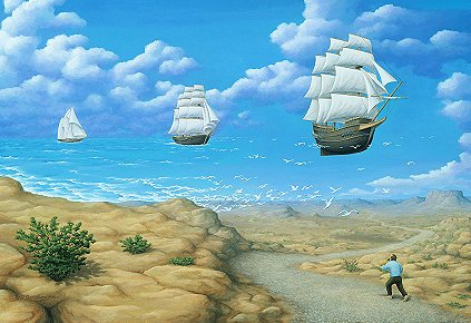 Rob Gonsalves - In Search of Sea