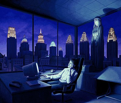 Rob Gonsalves - Light of a Late Night