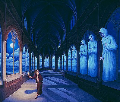 Rob Gonsalves - Medieval Moonlight