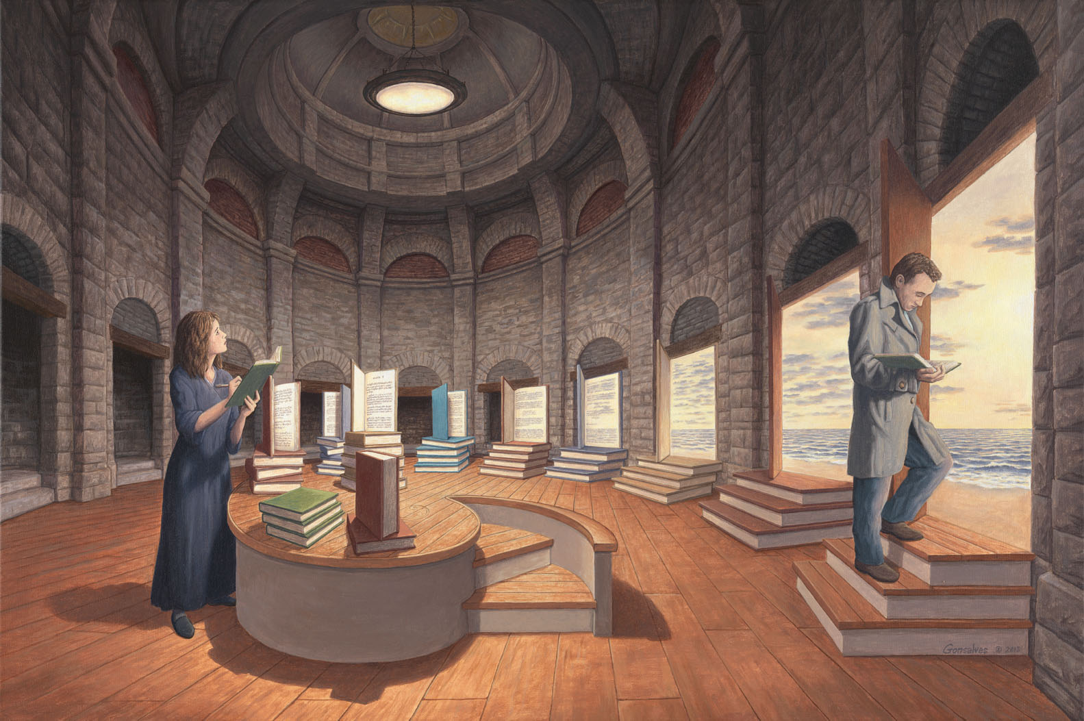 Rob Gonsalves - The Space Between Words