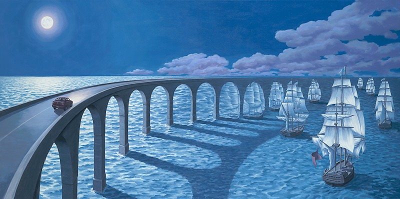 Rob Gonsalves - Toward the Horizon