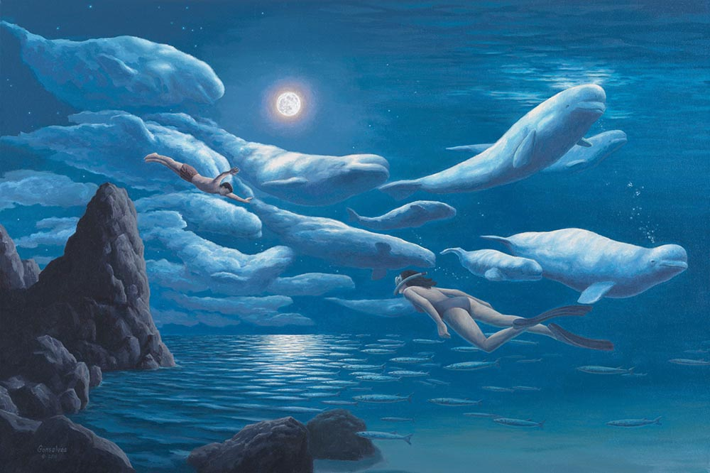 Rob Gonsalves - Union of Sea and Sky