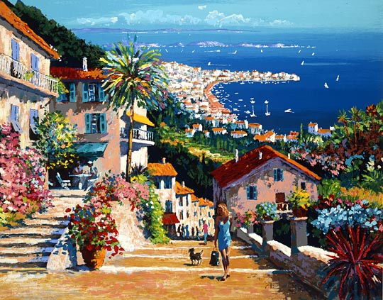 Kerry Hallam - mediterranean afternoon