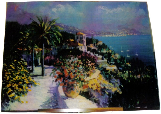 Kerry Hallam - Riviera Reverie original painting