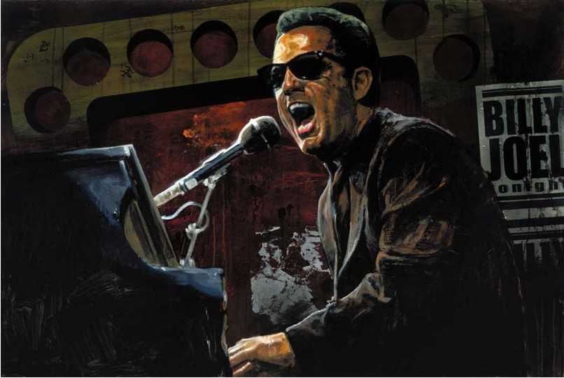 Stephen Holland - Billy Joel - limited edition print