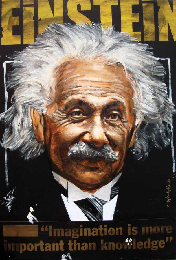 Stephen Holland - ALBERT EINSTEIN - limited edition print