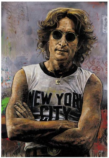 Stephen Holland - NEW YORK - John Lennon - limited edition print