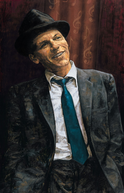 Stephen Holland - Frank Sinatra - limited edition print